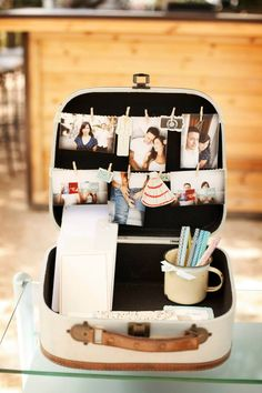 Suitcase for cards