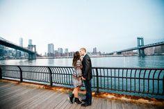 DUMBO / Brooklyn Bridge Promenade Engagement Session