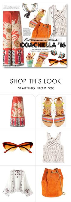 """""""coachella - hot summer trends '16"""" by bonadea007 ❤ liked on Polyvore featuring Etro, Elina Linardaki, Rebecca Taylor, Relaxfeel, Jérôme Dreyfuss and Gas Bijoux"""