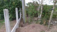 Jak postawic plot betonowy - YouTube
