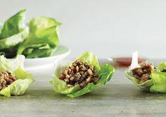 Lettuce Cups with Stir-Fried Chicken | Bon Appétit