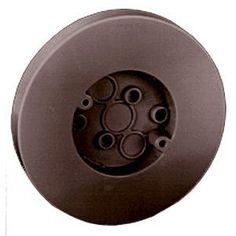 "Thomas & Betts 5080-BR 6-1/2"" Round Box With Flat Screw"