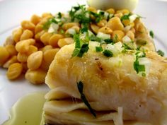 #Codfish with chickpeas - to go with a Douro Wine -  #Portuguese Food | Catavino