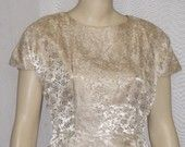 Gorgeous vintage dress featured in a treasury!