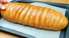Different Types Of Bread, Just Bake, Easy Bread, Hot Dog Buns, Hot Dogs, How To Make Bread, Bread Recipes, Homemade, Baking