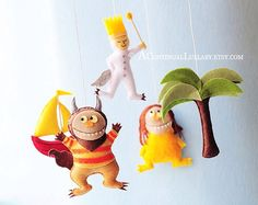 The Original- Where the wild things are No.1 Baby Mobile, Storybook Baby Mobile by A Continual Lullaby