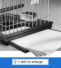 """Cage Catchers Cage Liners - 22.5"""" x 30.5"""" - 150ct.  Tell a friend  Item #:CC_225X305_150  Price:$69.30"""