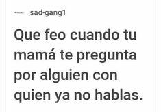 La netta alv :'v Sad Love Quotes, Life Quotes, Qoutes, Cute Spanish Quotes, Words Can Hurt, Sad Texts, Facebook Quotes, Love Phrases, Some Words