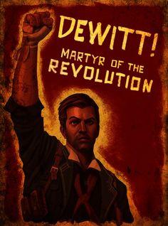 Bioshock: Infinite Booker DeWitt Poster