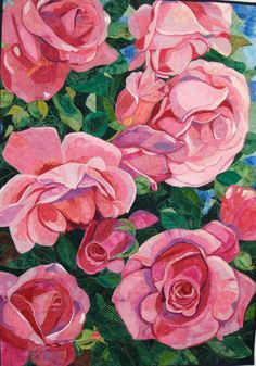 Award-winning quilter Melinda Bula teaches you how to turn your photographs of flowers into quilted works of art.