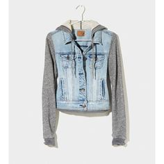 AE Denim Vested Hoodie | American Eagle Outfitters ($69.95)
