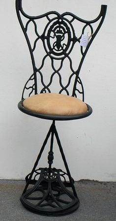 chair made from treadle sewing machine - Google Search