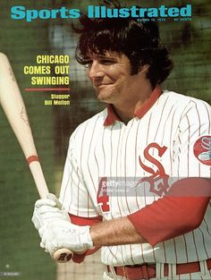 March 12, 1973 Sports Illustrated Cover, Baseball: Closeup of Chicago White Sox…