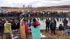 Standing Rock Asks Police to Leave Ancient Burial Ground