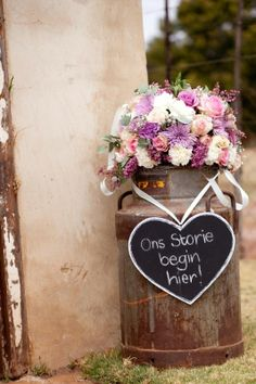 Charne & Marius Wedding at Imperfect Perfection - light pink and purple decor by Love & Grace