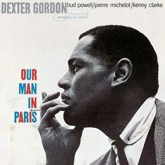 Cover for the 1963 Dexter Gordon album OUR MAN IN PARIS