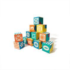Groovie Math & Patterning Block Set
