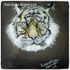 #tiger #pastels