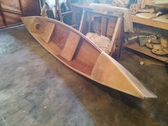 Picture of Stich & Glue Plywood Canoe