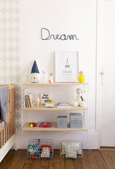 etagere STRING kids room ideas