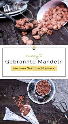 Einfaches Weihnachts-Rezept: Gebrannte Mandeln wie vom Weihnachtsmarkt - So geht's | Filizity.com | Food-Blog aus dem Rheinland #weihnachten #advent