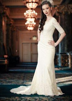 Custom made wedding dress - Wedding Inspirations