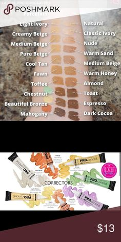Any 3 for $13 LA GIRL PRO CONCEALERS I have all colors in stock that are in the pictures. Just comment below which colors you want and purchase the listing of you're interested. Makeup Concealer