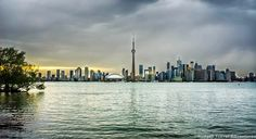 A Toronto sunset