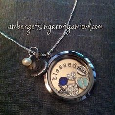 My new mommy to a baby boy Origami Owl Locket! :)