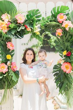 Tropical 1st birthday party | Wedding & Party Ideas