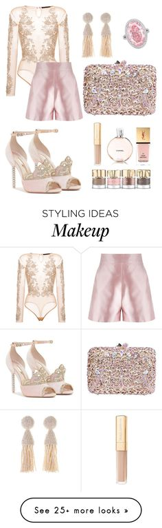 """Blushing"" by thenudeface on Polyvore featuring Amen, Martha Medeiros, Oscar de la Renta, Smith & Cult, Chanel, Yves Saint Laurent, Dolce&Gabbana, contest, vogue and blush"