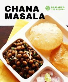 This Punjabi Chana Masala or Chole Masala is an authentic North Indian style Chickpea Curry made with white chickpeas, freshly powdered spices, onions, tomatoes and herbs. Chana masala is a naturally vegan recipe with added health benefits of the chickpeas which are packed full of protein, minerals and fiber. #chanamasala #chickpeas #chickpea #chickpeacurry #chole Kebab Recipes, Lentil Recipes, Vegetarian Recipes Dinner, Veg Recipes, Spicy Recipes, Cooking Recipes, Punjabi Recipes, Gujarati Recipes, North Indian Recipes