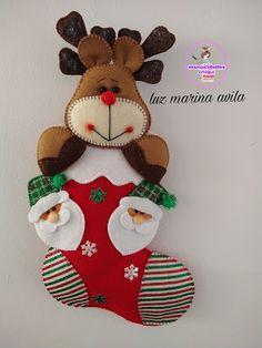 Christmas Clay, Christmas Sewing, Christmas Goodies, Christmas Crafts, Merry Christmas, Christmas Ornaments, Felt Doll Patterns, Easter Bunny Decorations, Felt Dolls