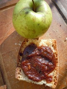 Moja Toskania: Czekoladowy dzem jablkowy