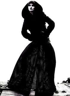 L'ange Noir - Numéro Magazine September 2013. Photography by Sofia & Mauro