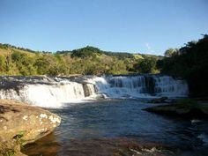 Cachoeira Itaúna, em Baependi, MG.