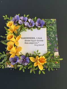 On Thursday, I leave for CHA (Craft & Hobby Association) annual trade show in Anaheim, California. I have five new Garden Notes (including this Daffodil #1139), seven new CountryScapes, includ...
