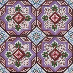 ASK 2706 Portuguese handmade majolica tile