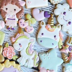 Another close up of the full set ! #thesweetdesignsshoppe #unicorn #3dcookiecutters #3dprinting #unicornbirthday #unicornparty