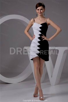 Cool sweet 16 dresses black and white