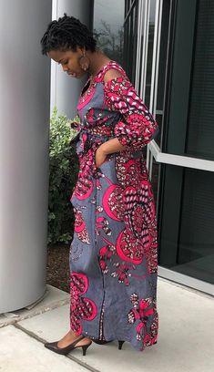 Ankara Maxi Dress, African Maxi Dresses, Ankara Gowns, Latest African Fashion Dresses, African Dresses For Women, African Wear, African Attire, African Women, Ankara Fashion