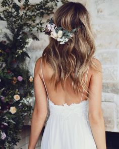 Barely there spaghetti straps and a stunning low back. Our TARA gown was made for the romantic minimalist  #graceloveslace #weddingdress
