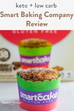 I review Smart Baking Company which is a keto, low carb brand. They focus for keto buns and these little dimes called smart cakes. Think of keto mug cakes that have excellent net carbs and super low in calories. The keto hamburger buns are easy to prepare and come in a nicely sealed packaged. I even have a special discount! Sugar Free Desserts, Dessert Recipes, Dinner Recipes, Easy Casserole Dishes, Keto Buns, Coconut Flour Recipes, Keto Mug Cake, How To Make Pancakes, Baking Company