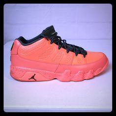 buy online 12dfa 5e64d Nike Shoes   Nike Men S Air Jordan 9 Retro Low   Color  Green Orange
