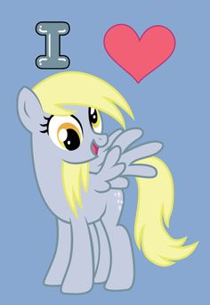 I Heart Derpy. who doesn't love Derpy? Princess Celestia, Princess Luna, Mlp My Little Pony, My Little Pony Friendship, Doctor Whooves, Little Poney, My Little Pony Pictures, Fluttershy, Rainbow Dash