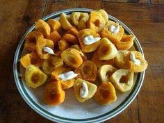 Pejiballes con mayonesa - Comidas Tradicionales - Costa Rica