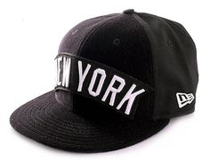 NEW ERA x MLB「NY Patch」59Fifty Fitted Baseball Cap