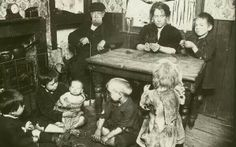 One family living in one room. 1880's. Bethnal Green.London.