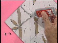 MONITOR | Delia Digiorgio utiliza lacas vitrales y tridimensional | Mano...