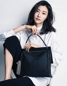 Park Ji Hye by Yoo Young Gyu for Rouge and Lounge Spring 2016 lookbook
